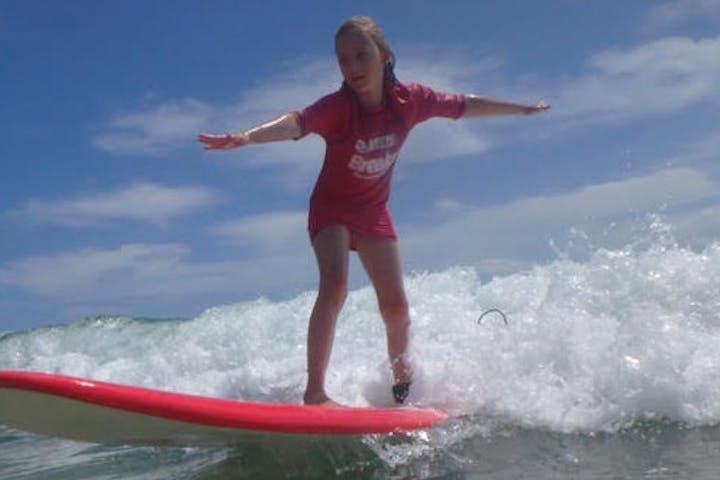 Bribie Island Surfing
