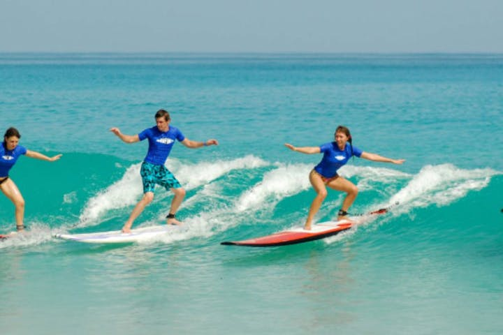 Surf Bribie island & the sunshine coast