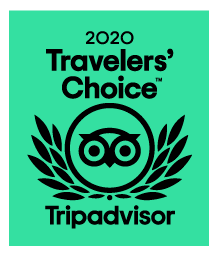 Logo for TripAdvisor Travelers' Choice 2020