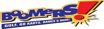 Boomers! Go Karts Company Logo