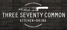 Three Seventy Common Kitchen + Drink Company Logo