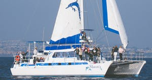 Manute'a under sail