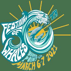 50th Annual Festival of Whale Logo