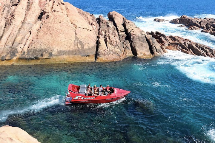 A look at the Canal Rocks in the Indian Ocean