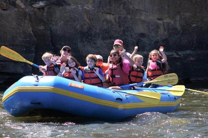 Easy and safe rafting in Gunnison