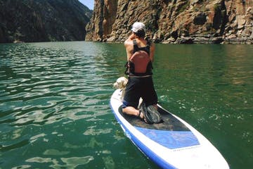 Stand up paddle board in Colorado