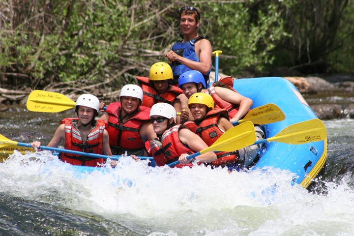 Rafting on the Taylor River in Colorado