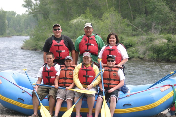 Ready for a river rafting trip on the gunnison