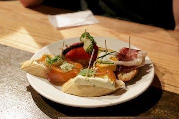 Plate of tapas