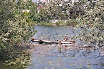 Canoe tour secret vienna old danube