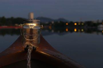 Laternen Tour Alte Donau Canoe Tour Secret Vienna