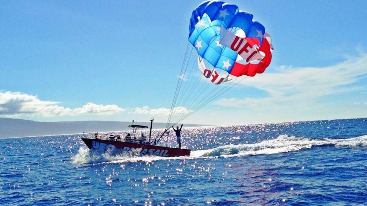 Parasailing In Hawaii Parasail Maui