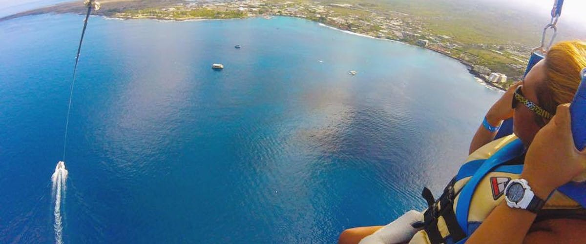 Parasailing in Hawaii