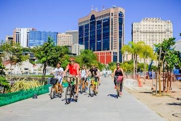 Biking-Through-Downtown-Rio