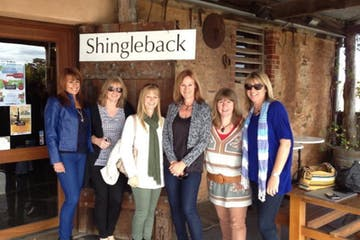 A group of people at Shingleback Winery