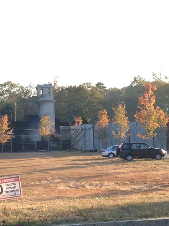 Alexandria clock tower. Senoia, GA