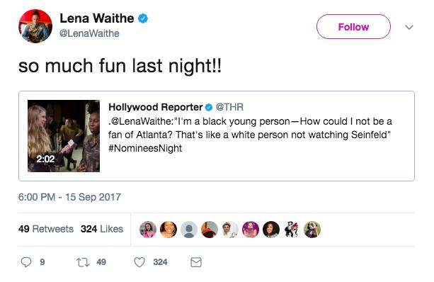 @LenaWaithe Twitter