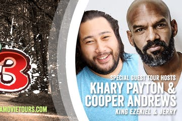Khary Payton and Cooper Andrews Tour October 2019
