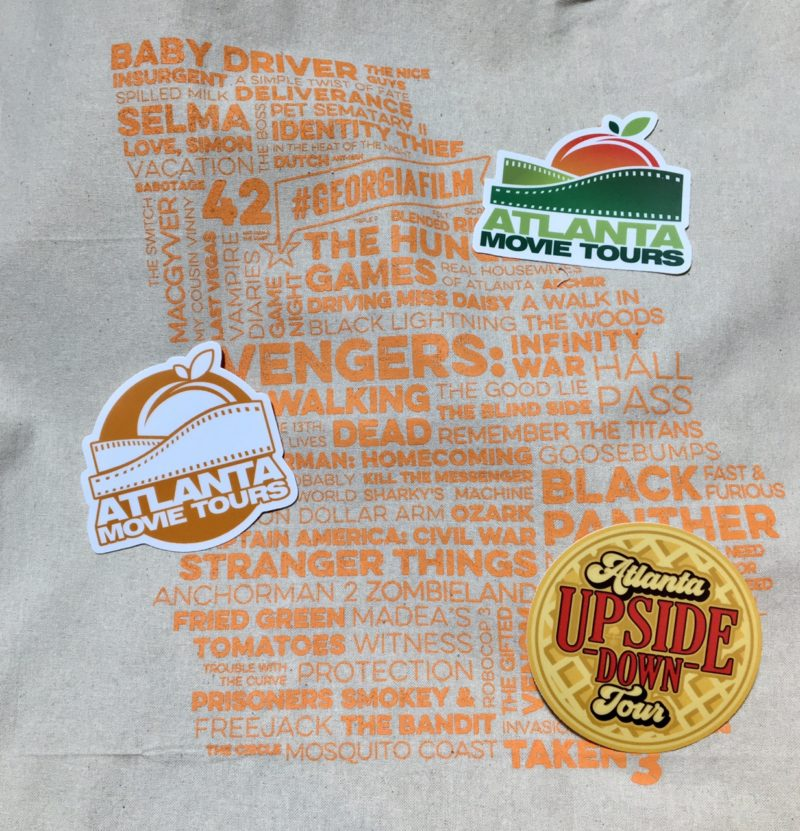 Sticker Muler Georgia Film