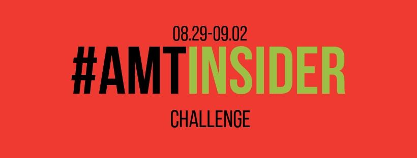 #AMTINSIDER Challenge