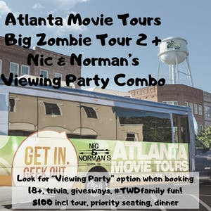 TWD Viewing Party Tour Combo