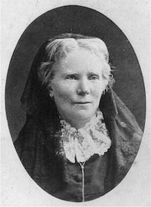 a vintage photo of Elizabeth Blackwell
