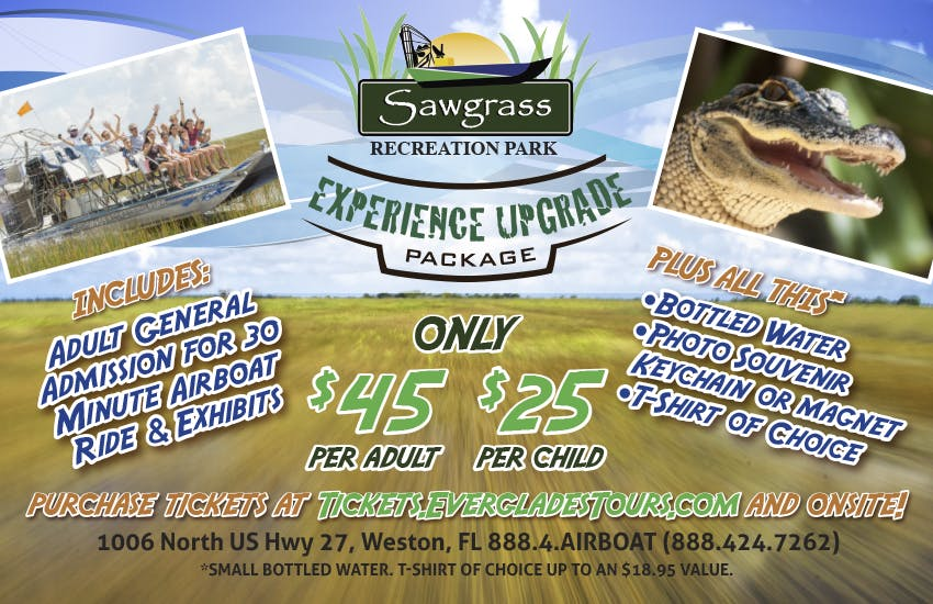 Sawgrass Recreation Park Fall Promotions