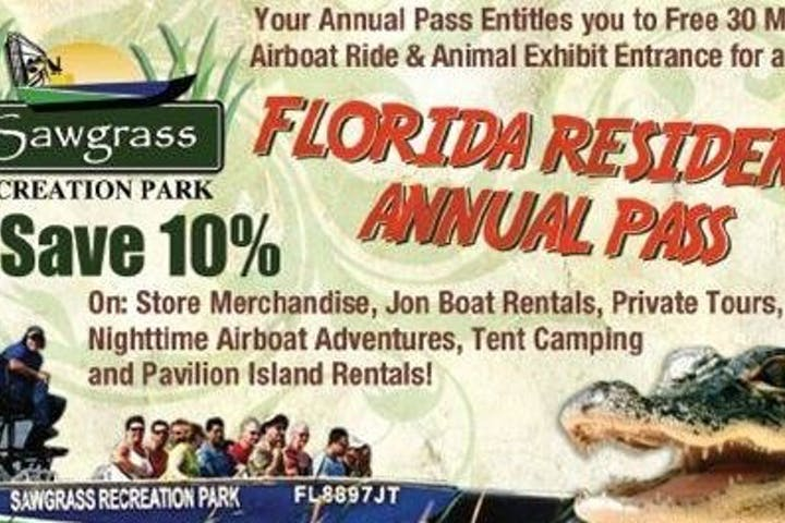 Florida Resident Annual Pass
