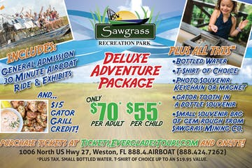 deluxe adventure package flyer