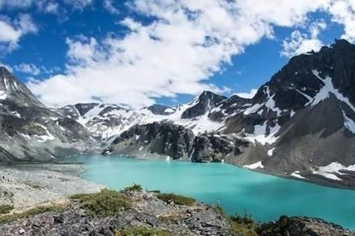 Rockies Summer Adventure with a turquoise lake