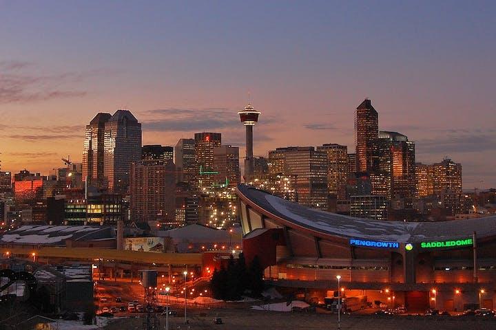 Skyline in Calgary
