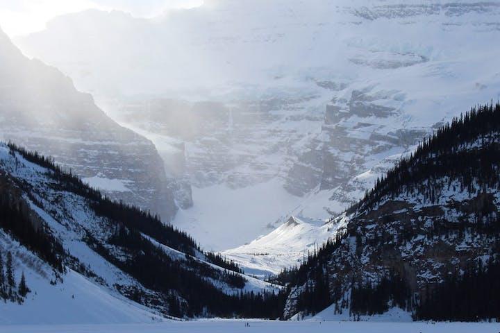 Lake Louise Ski Resort in Canada