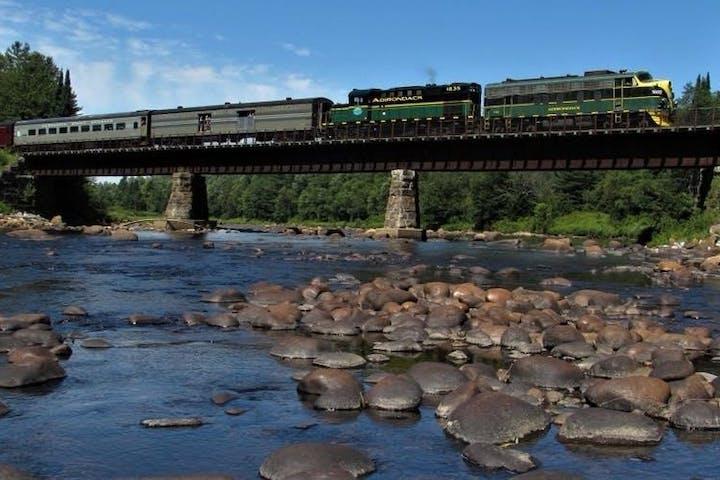 Adirondack Scenic railroads