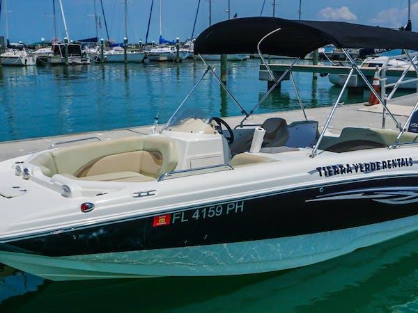 Deck boat rentals