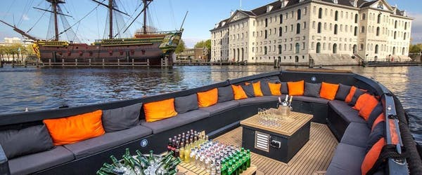 Private Luxury Canal Tour Amsterdam