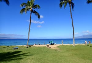 Maui snorkeling at Airport Beach in Kaanapali.