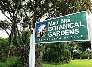 Maui Nui Botanical Gardens is Hawaiian-owned.