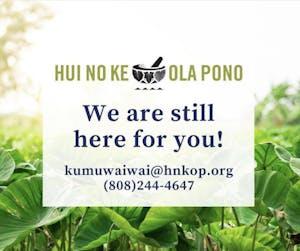 Hui No Ke Ola Pono Maui is Hawaiian-owned.