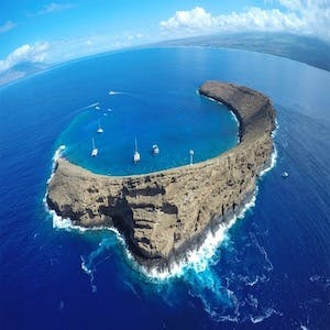 maui diving at molokini crater