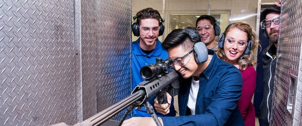 Machine Gun Range Las Vegas