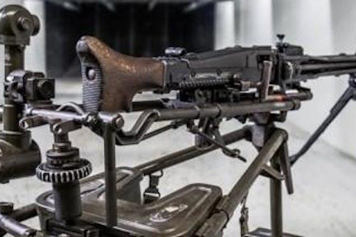 MG42 Machine gun at The Range 702
