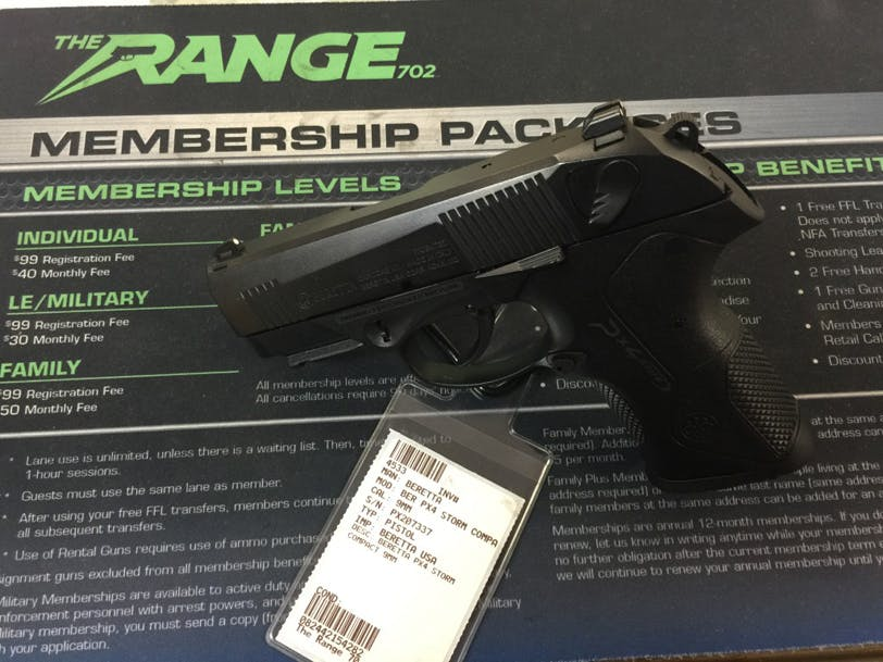 GUN OF THE MONTH: BERETTA PX4 STORM COMPACT 9MM | The Range 702