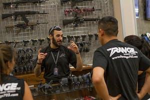Gun instructor at The Range 702