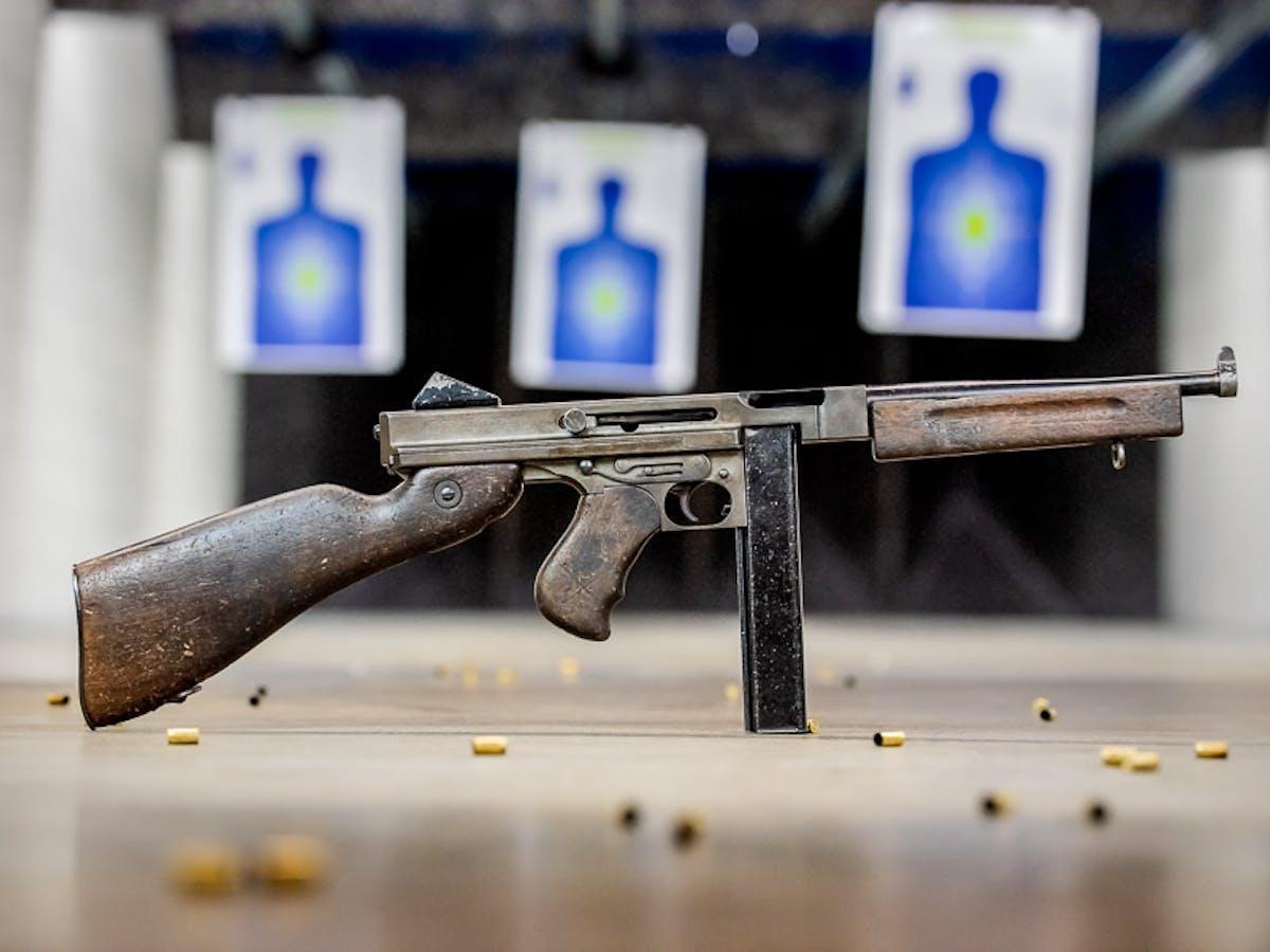 Thompson Machine Gun at The Range 702
