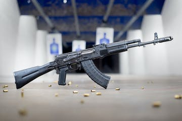 AK-47 at The Range 702