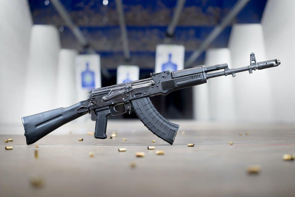AK-47 at The Range 702