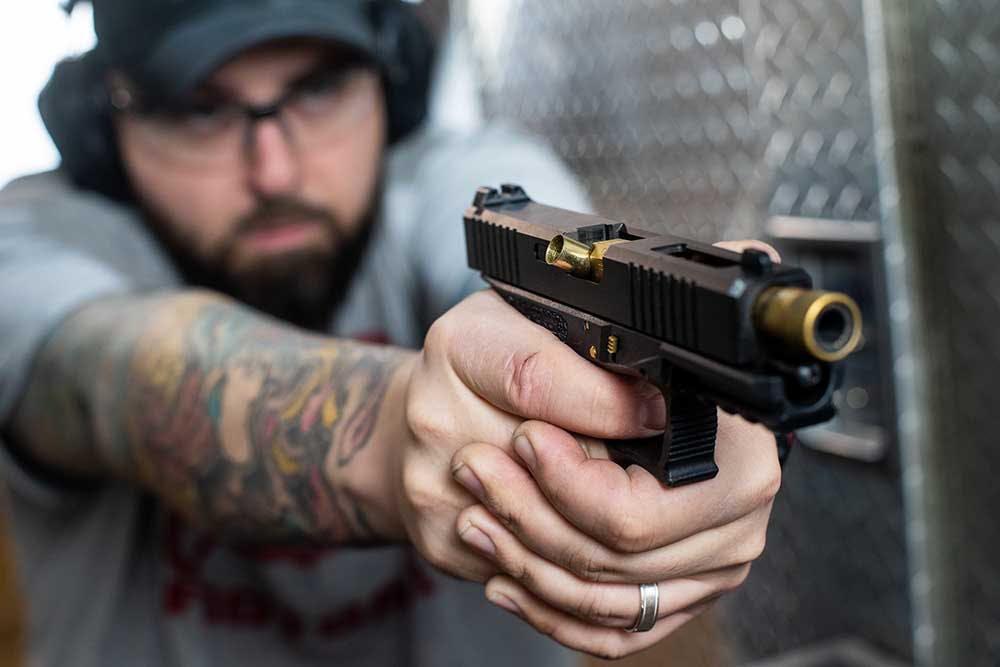 Gun misfiring