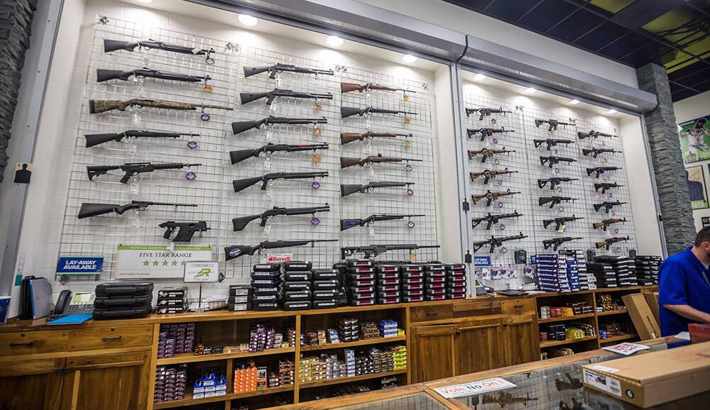 Gun store in Las Vegas