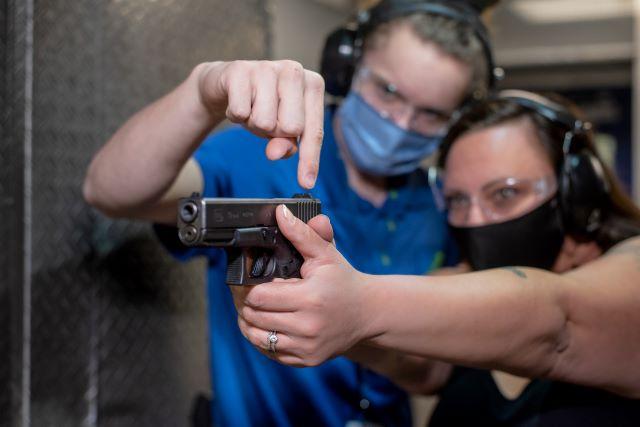 1-on-1 firearm training in Las Vegas