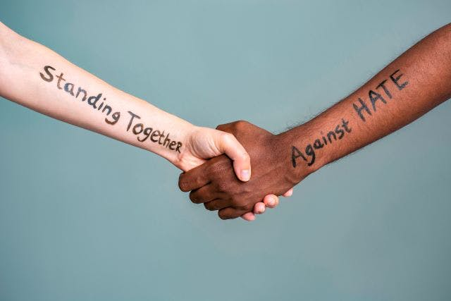 standing together to stop hate and violence